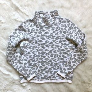 Loft Animal Print Sweater